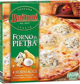 FORNO Pizza di pietra 3 formaggi 410 G