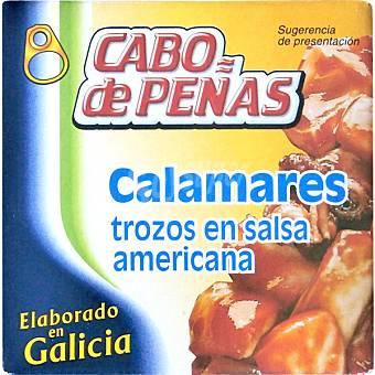 Cabo de Peñas Calamares trozos en salsa americana lata 59 g neto escurrido