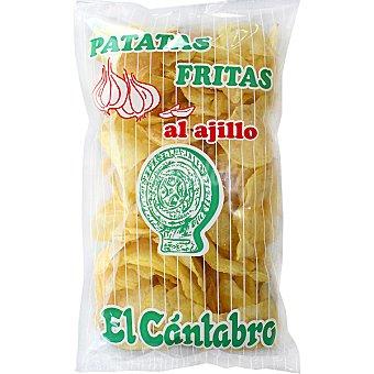 El Cántabro Patatas fritas al ajillo Bolsa 170 g