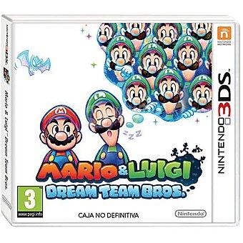 Nintendo Videojuego Mario & Luigi Dream Team Bros  1 unidad