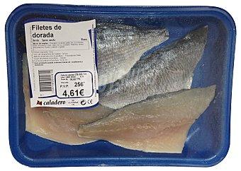Caladero Dorada fresca filete Bandeja 400 g (peso aprox. unidad)