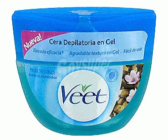 Veet Cera Tibia Depilatoria en Gel Sensitive Cera Tibia Gel250ml