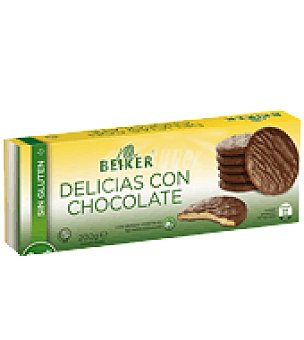 Beiker Delicias con chocolate sin gluten 200 g