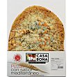 Pizza 4 quesos 600 g Casa Bona