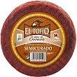queso de cabra semicurado con pimentón pieza 1,1 kg El Tofio