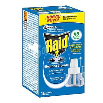 Raid Insecticida eléctrico líquido antimosquitos 45 ml