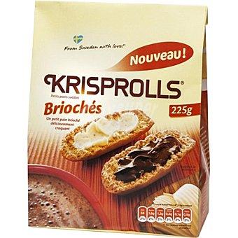Krisprolls Panecillos suecos briochés Bolsa 225 g