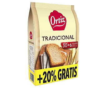 Ortiz Pan tostado normal Paquete 270 g
