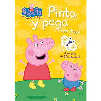PEPPA PIG : Pinta y juega con Peppa. Primera infancia