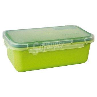 VALIRA Hermético Rectangular de plástico en color verde 1 Unidad