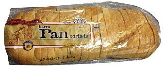 Panificadora Alcala Pan barra cortado (larga vida) 1 unidad (700 g)