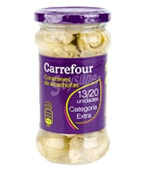 Carrefour Corazón del alcachofa mini 13/20 unidades 165 g