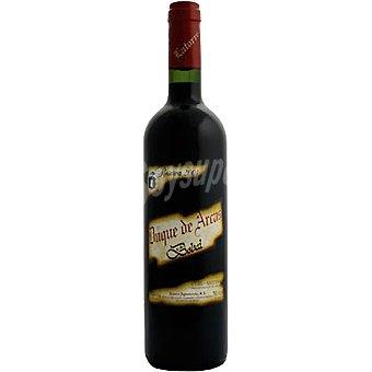 DUQUE DE ARCAS Vino tinto reserva bobal 100% D.O. Utiel Requena Botella 75 cl