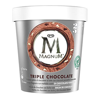 Magnum Helado de triple chocolate 450 ml