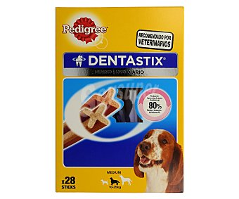 PEDIGREE DENTASTIX Alimento completo para perros razas medianas 720 Gramos