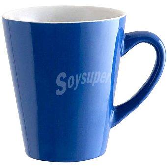 Quid Cromoterapia mug de gres en color azul 51 cl