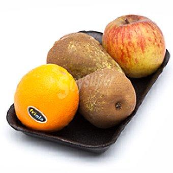 VARIADAS Frutas Mix Merienda Bandeja 4 unid