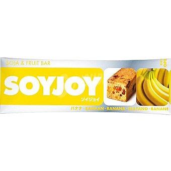 SOYJOY Barrita energética de plátano Soja & Fruit Bar Unidad 30 g