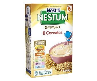 Nestum Nestlé Papilla de 8 cereales para bebés a partir de 6 meses 600 gramos