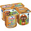 Yogur sabor galleta pack 4 unidades 120 g CLESA