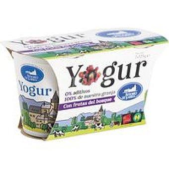 Señorio de Sarria Yogur con frutas del bosque Pack 2x125 g