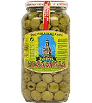 Escamilla Aceitunas verdes manzanilla sin hueso 455 g