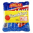 Salchichas Frankfurt Pack 3x140 g Argal