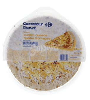 Carrefour Discount Pizza 4 quesos 400 g