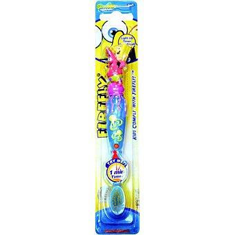 BOB Esponja cepillo dental infantil con luz a partir de los 2 años Blister 1 unidad