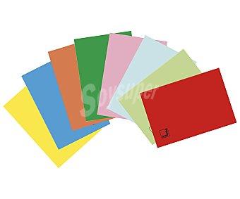PACSA Libreta DIN A4 con cuadrícula de 4x4 milímetros, 50 hojas de 70 gramos con margen, tapas de polipropileno de alta resistencia de diferentes colores y encuadernación mediante grapas pacsa. Este producto dispone de distintos modelos o colores. Se venden por separado SE surtirán según existencias 70 gramos
