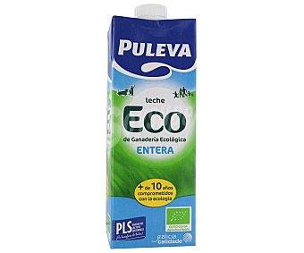 Puleva Leche Entera Ecológica Brik 1 litro