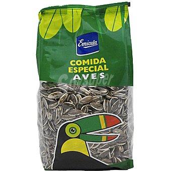 Emicela Pipas girasol crudas comica especial para aves Bolsa 500 g