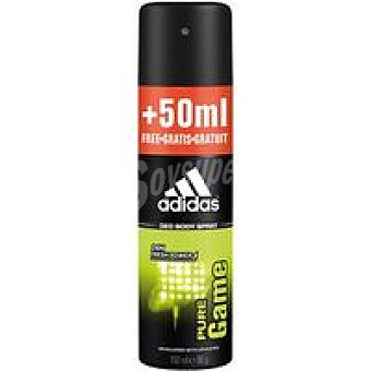 Adidas Desodorante para hombre Pure Game Body Sp Spray 200 ml