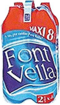 Font Vella Agua Mineral Natural 2 LTS maxi pack de 4 unidades