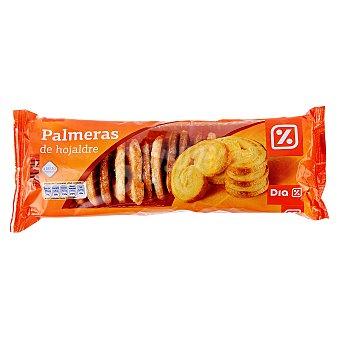 DIA Palmeritas hojaldre Bandeja 270 gr