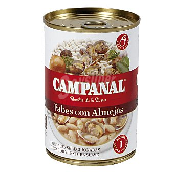 Campanal Fabes con almejas Estuche 425 g