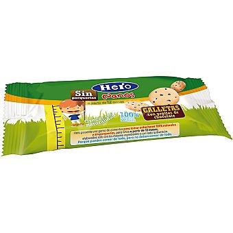 Hero Baby Galletas con pepitas de chocolate 100% naturales a partir de 12 meses Nanos Envase 30 g