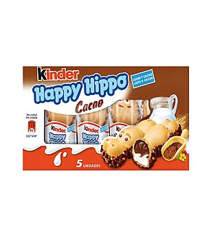 Kinder Happy Hippo Cacao T5 103 g