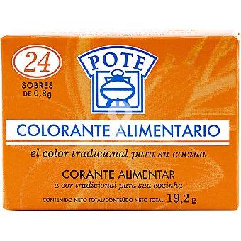 Colorante alimentario caja 24 sobres