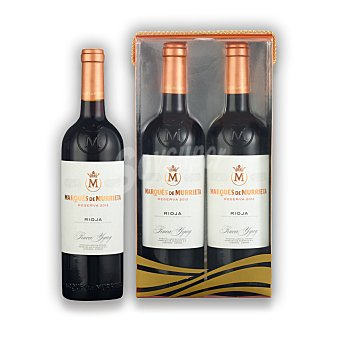 """Marqués de Murrieta Estuche de vino D.O. Ca. """"rioja"""" tinto reserva Pack 2x75 cl"""