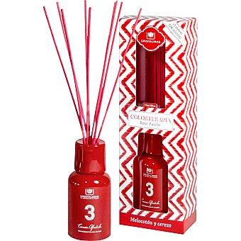Cristalinas Ambientador en varillas aromáticas en color rojo  150 ml