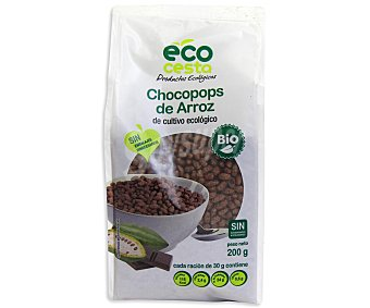 Ecocesta Cereales de arroz inflado ecológico 200 gramos