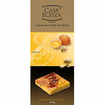 Casa Eceiza Turrón de yema tostada Caja 200 g