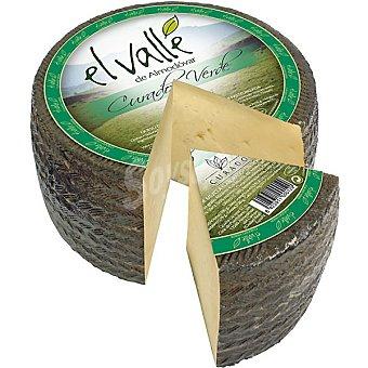 El valle de almodovar Queso curado verde  3 kg (peso aproximado pieza)