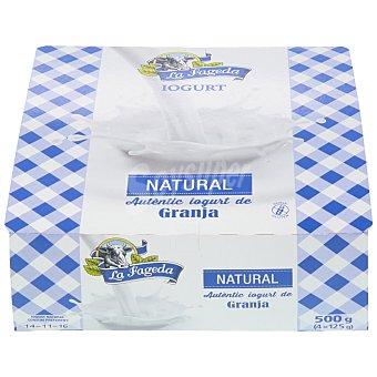 La Fageda Yogur natural Pack 4x125 g