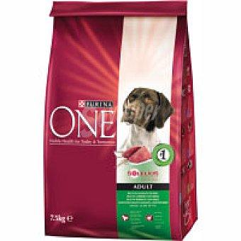 Purina One Alimento de cordero-arroz perro adulto 7,5 kg