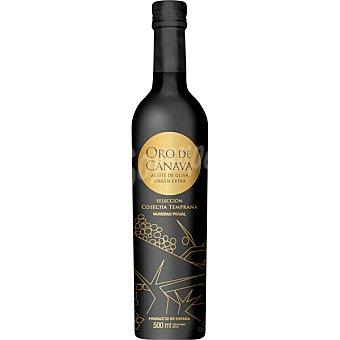 ORO DE CANAVA Aceite de oliva virgen extra Cosecha Temprana Botella de 500 ml