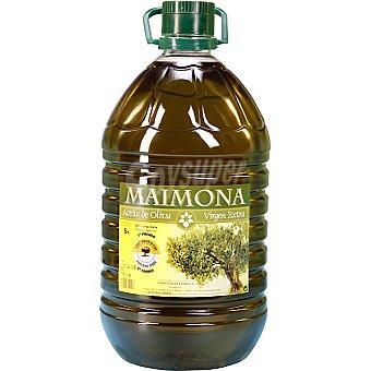 MAIMONA aceite de oliva virgen extra bidon  5 l