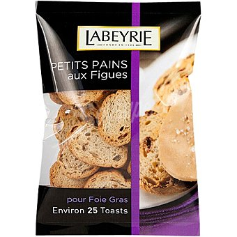 Labeyrie Mini tostadas de higo para foie gras Envase 100 g