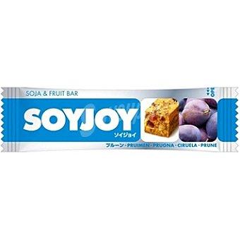 SOYJOY Soja & Fruit Bar Barrita energética de ciruela Unidad 30 g